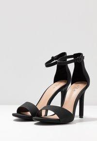 Call it Spring - DELLMAR VEGAN - Korolliset sandaalit - black - 4
