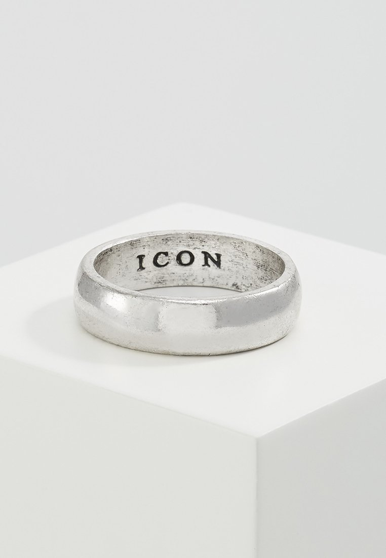 Icon Brand - ICON BAND - Ringar - silver-coloured