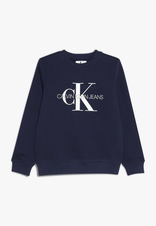 MONOGRAM LOGO - Sweatshirt - peacoat