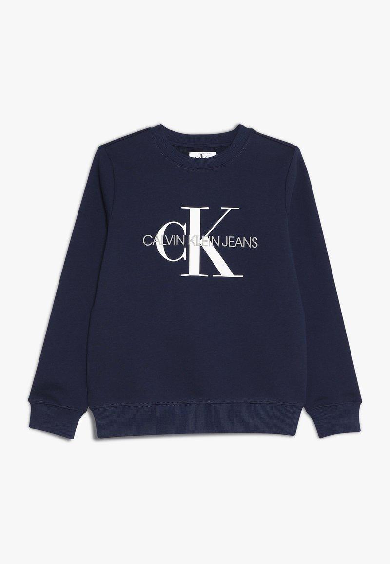 Calvin Klein Jeans - MONOGRAM LOGO - Sweater - peacoat