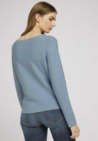 TOM TAILOR DENIM - Pullover - soft mid blue - 2
