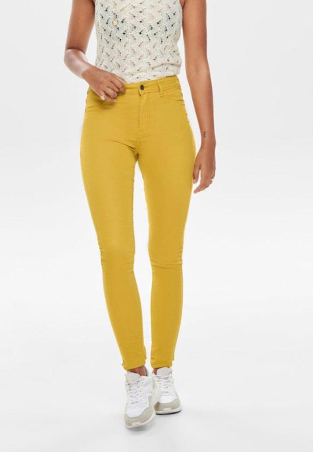 LARA - Jeansy Skinny Fit - harvest gold