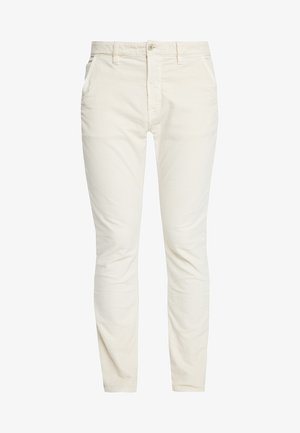 ADAM - Trousers - dusty white