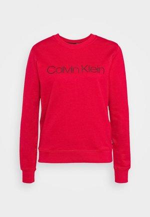 CORE LOGO - Sweatshirt - tango red