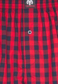 Ceceba - X-MAS SET - Pyžamo - red medium checks - 6