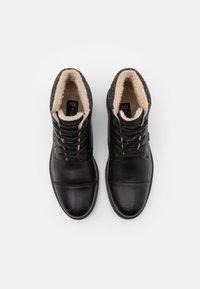 Bugatti - ALVARO EVO TEX - Lace-up ankle boots - black - 3
