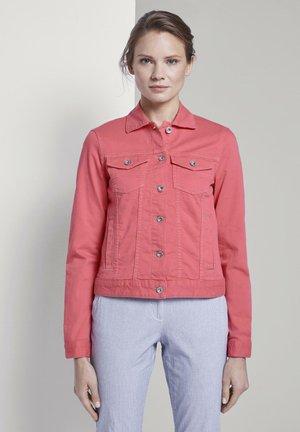JACKEN & JACKETS JEANSJACKE - Denim jacket - charming pink