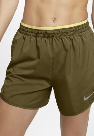 TEMPO LUX   - Sports shorts - olive flak/tea tree mist