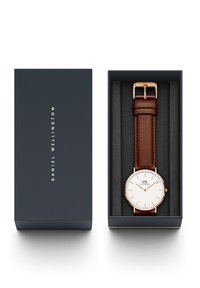 Daniel Wellington - CLASSIC ST MAWES 40MM - Hodinky - brown/rose gold coloured - 3
