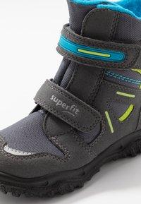 Superfit - HUSKY - Winter boots - grau/blau - 5
