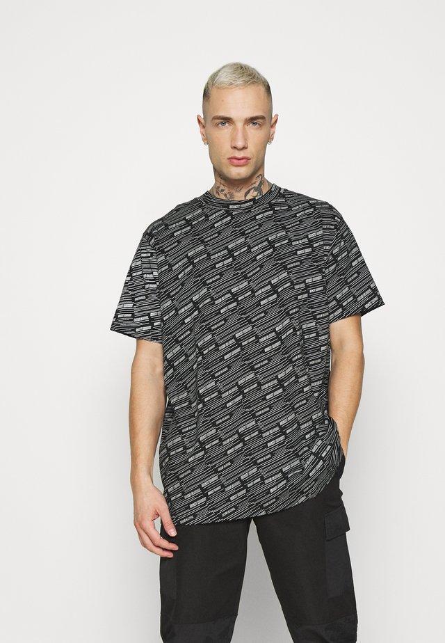 STEW - T-shirt con stampa - black