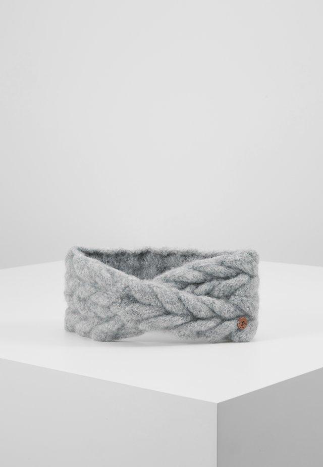 BRAIDCRICROSSHE - Oorwarmers - grey