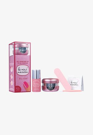 GEL MANICURE KIT - Nail set - rose gold