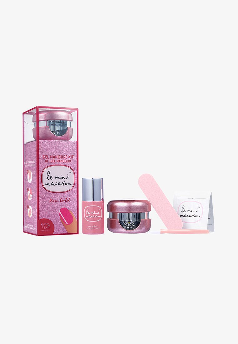Le Mini Macaron - GEL MANICURE KIT - Nail set - rose gold