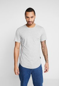 Only & Sons - ONSMATT  5-PACK - Basic T-shirt - black/white/blue - 1