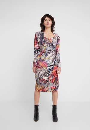 GRAND FOND DRESS - Day dress - tapestry hunt fire