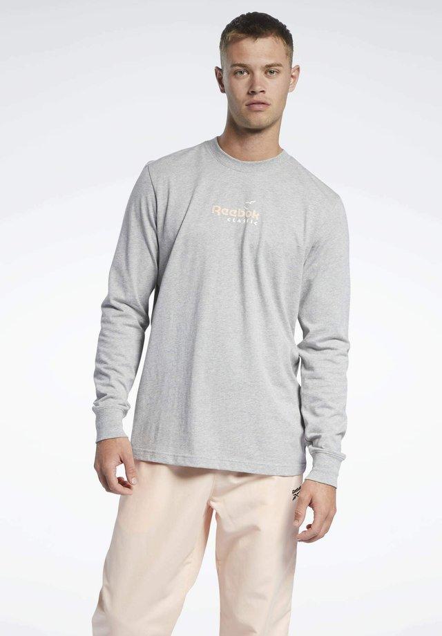 CLASSICS LONG-SLEEVE TOP T-LONG-SLEEVE TOP - Maglietta a manica lunga - grey