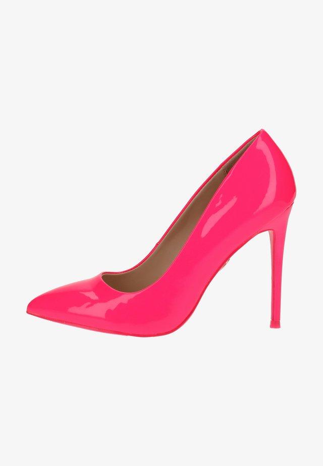 High heels - neon pink