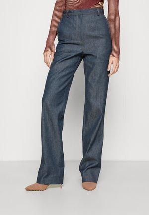 ELLE - Jeans straight leg - petrol