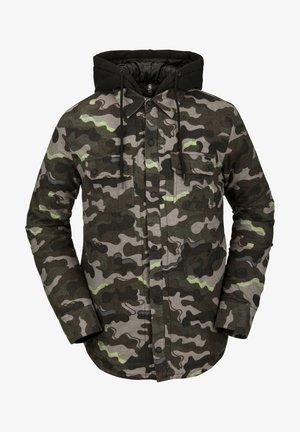 Snowboardjas - army