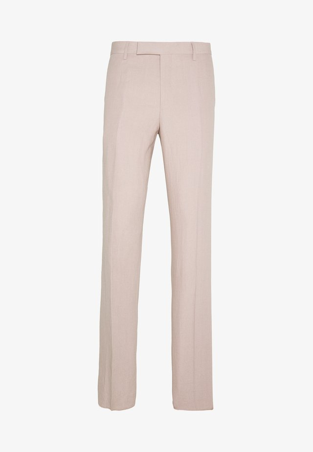 GENTS SLIM FIT TROUSER - Pantalón de traje - mottled pink