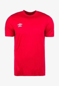 Umbro - CLUB SS - Basic T-shirt - red - 0