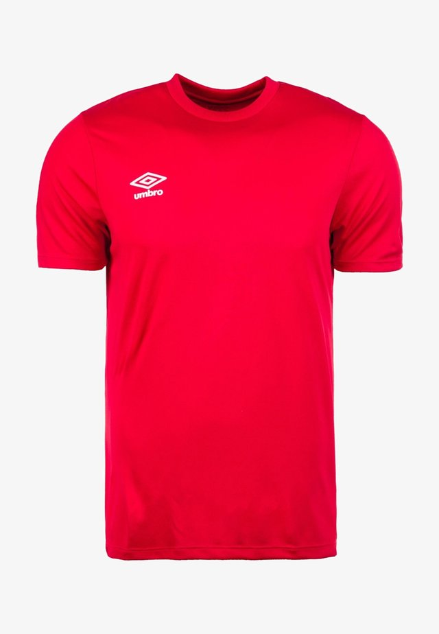 Camiseta básica - red