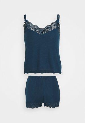 SHORT SET - Pyjama set - blue night luxe