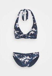 Roxy - HALT SET - Bikini - mood indigo/aqua ditsy - 4