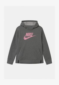 Nike Sportswear - Hoodie - carbon heather/pink - 0