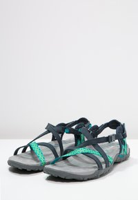 Merrell - TERRAN LATTICE II - Walking sandals - navy - 2