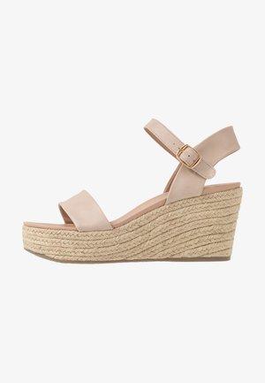 PICKLE - Sandaler med høye hæler - oatmeal
