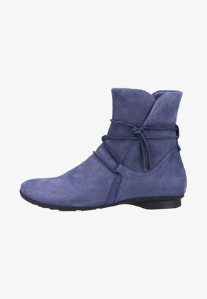 Lace-up ankle boots - indigo