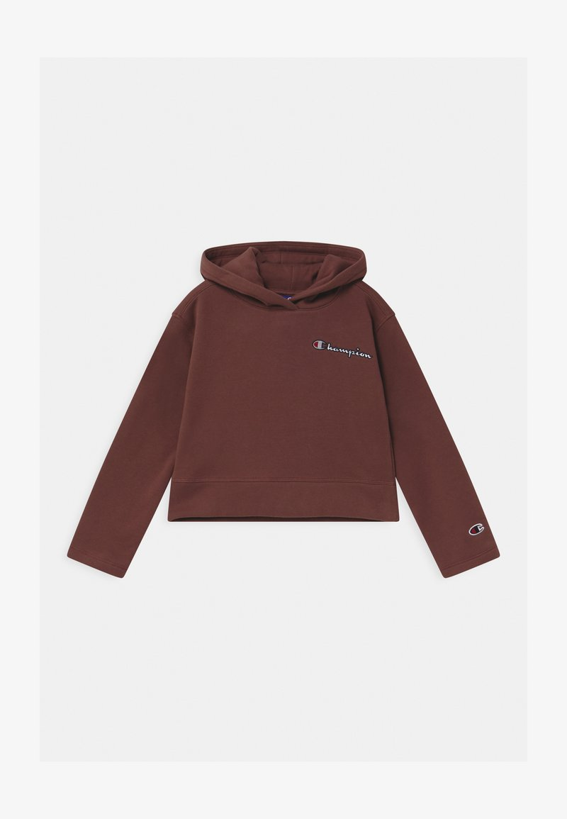 Champion - ROCHESTER LOGO HOODED UNISEX - Hoodie - brown