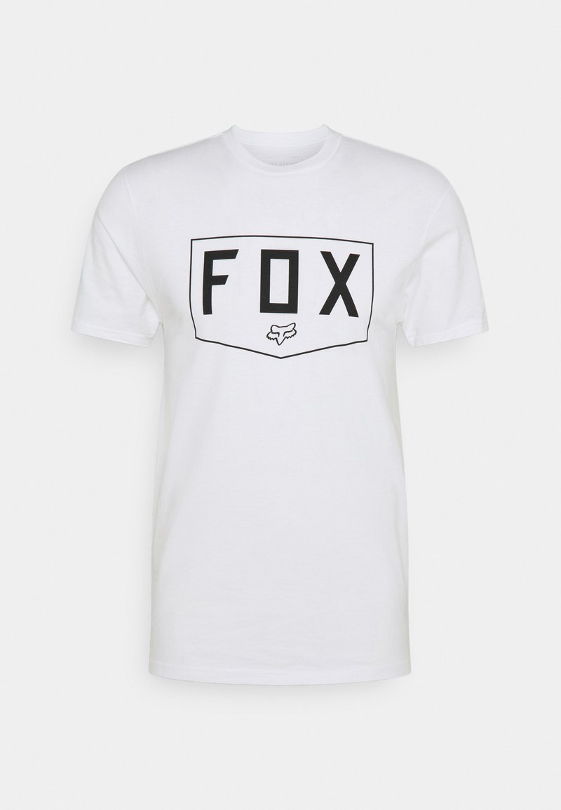 Fox Racing - SHIELD PREMIUM TEE - T-Shirt print - white