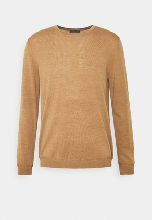 NECK - Jumper - camel