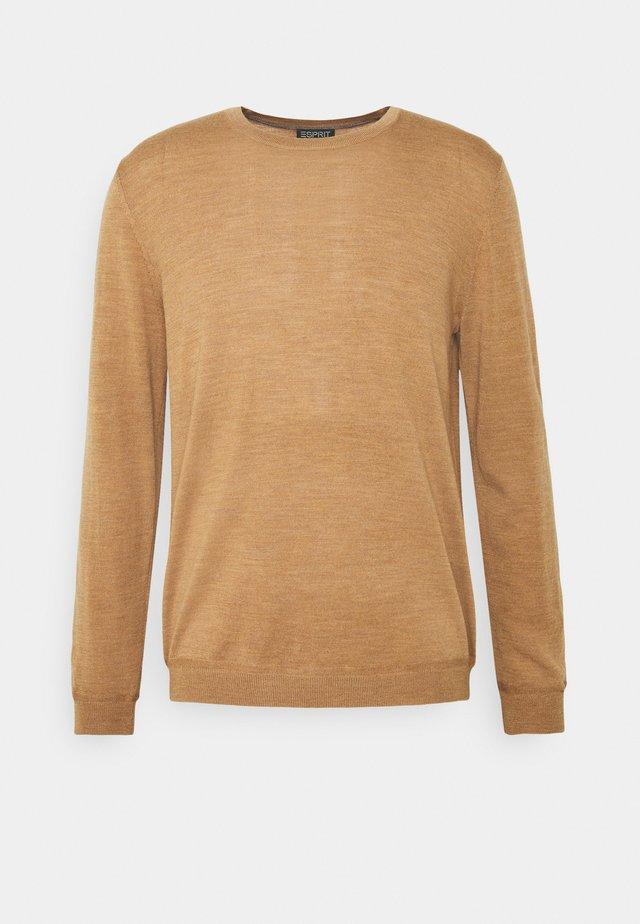 NECK - Pullover - camel