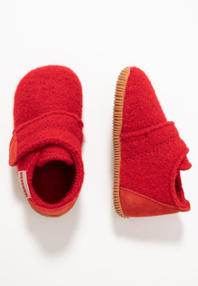 OBERSTAUFEN - Pantoffels - rot
