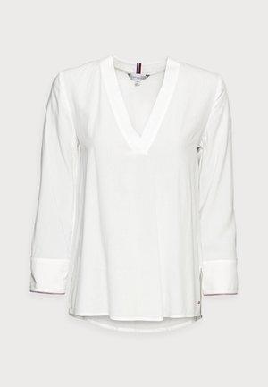 BLOUSE BRACELET - Blouse - white