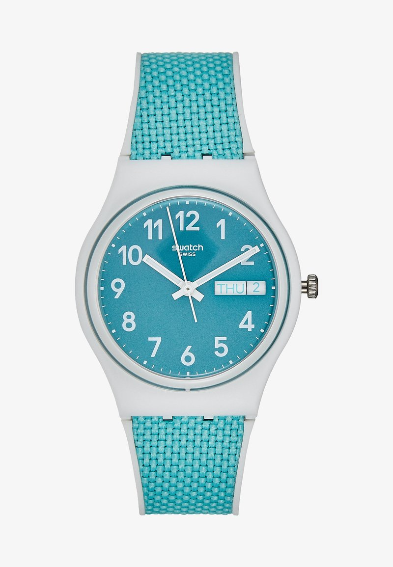 Swatch - POOL LIGHT - Watch - türkis
