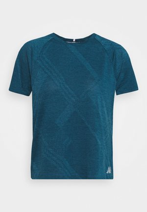 SPEED FUEL - Print T-shirt - blue