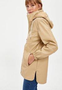 DeFacto - Waterproof jacket - beige - 2