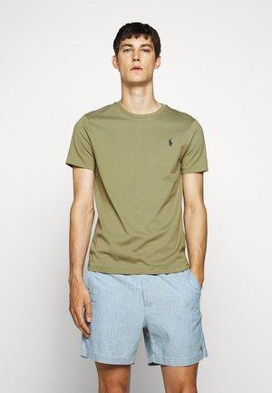 CUSTOM SLIM FIT CREWNECK - T-Shirt basic - sage green