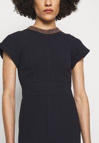 Victoria Beckham - Shift dress - navy - 4