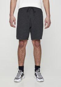 PULL&BEAR - Shorts - dark grey - 0