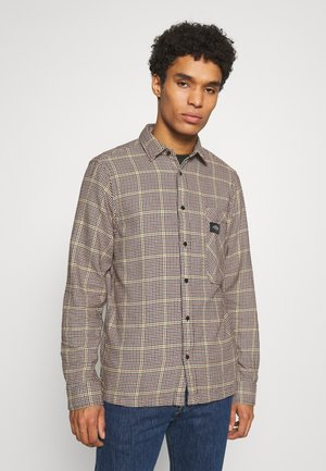 GENTLEMAN'S CHECK - Skjorta - dark brown