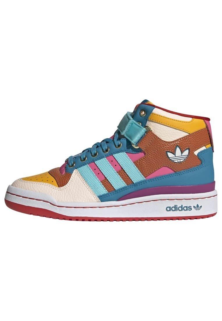 adidas Originals FORUM MID ORIGINALS SNEAKERS SHOES - Baskets ...