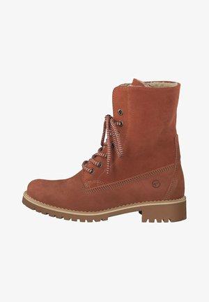Boots - Šněrovací kotníkové boty - brown