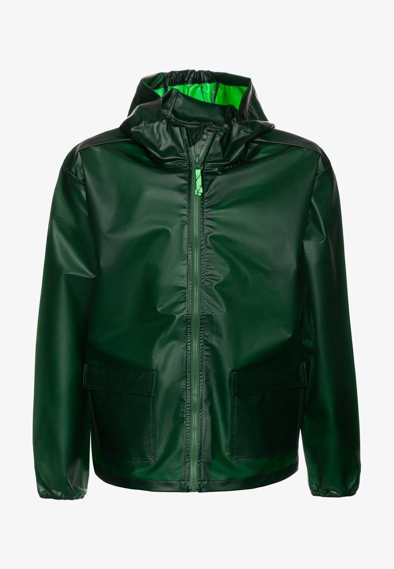 J.CREW - Waterproof jacket - rainforest green