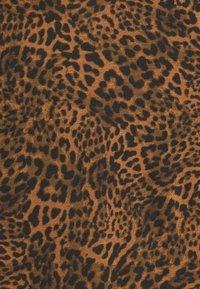 Banana Republic - COZY SLUB CREW PRINTS - Long sleeved top - black - 2